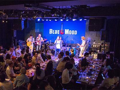 【築地・汐留】BLUE MOOD ライブハウスレストラン main image