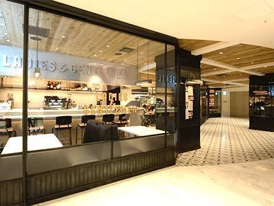 【新宿 バイト・社員募集 伊勢丹 フレンチのお仕事】BISTRO CAFE LADIES & GENTLEMEN main image